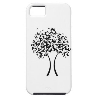 Butterfly tree iPhone 5 cover