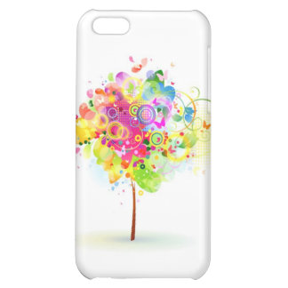 Butterfly Tree Cover For iPhone 5C