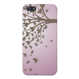 Butterfly Tree Case For iPhone 5