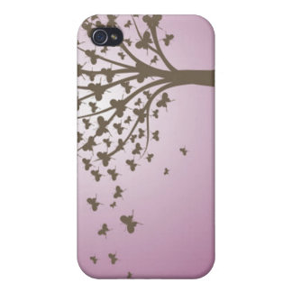 Butterfly Tree Cases For iPhone 4
