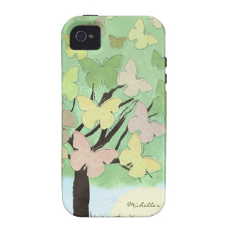 Butterfly Tree iPhone Case Case-Mate iPhone 4 Cases