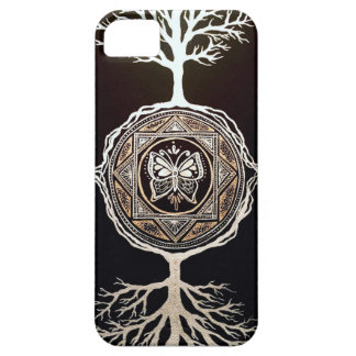 Butterfly Tree Mandala Case For The iPhone 5