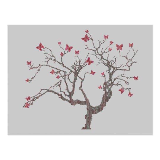 Butterfly Tree Postcard