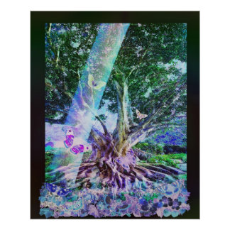 Butterfly Tree Posters