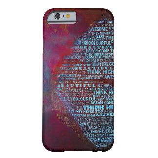 Butterfly Typography Barely There iPhone 6 Case