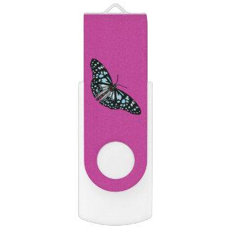 Butterfly USB Flash Drive Swivel USB 3.0 Flash Drive
