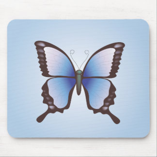 Butterfly: Vector Illustration: Mousepad