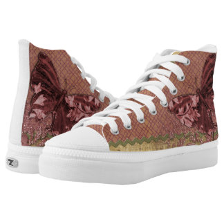 Butterfly vintage high tops