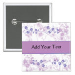 Butterfly Vision in Lilac Purple Badges