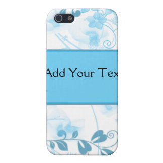 Butterfly Visions in Blue Case For The iPhone 5