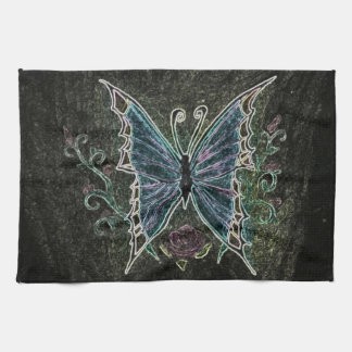 Butterfly Web Tea Towel