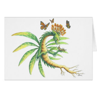 Butterfly Weed Dragon Card