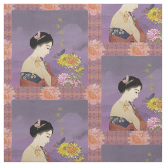 Butterfly Whisperer Tiled Fabric