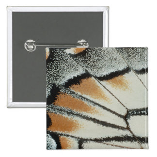Butterfly Wing 15 Cm Square Badge