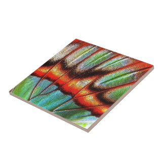 """""""Butterfly Wing"""" Small Square Tile"""