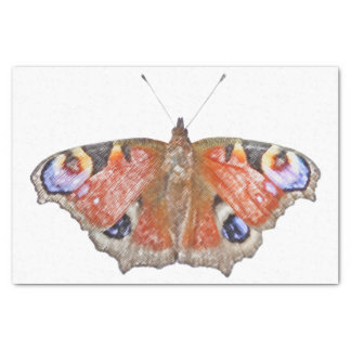 butterfly wings tissue paper