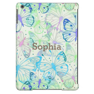 Butterfly Wings with Your Name iPad Air Cover