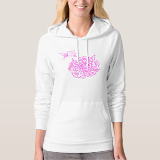 Butterfly with Flower(Henna) Pullover