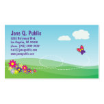 Butterfly with Nature Scene Business Card