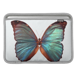 Butterfly with wings spread 2 sleeves for MacBook air
