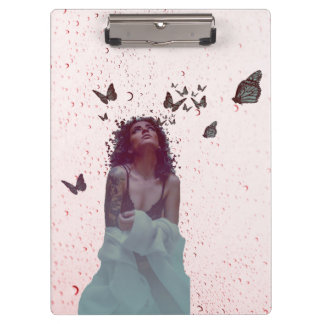 Butterfly Woman Clipboard