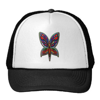Butterfly Woman Four Print Trucker Hat
