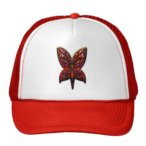 Butterfly Woman three Print Trucker Hat