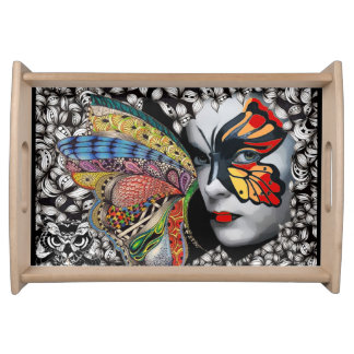 Butterfly Woman Tray