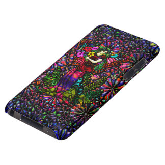 Butterfly Woman with Flowers and Butterflies Barely There iPod Cases