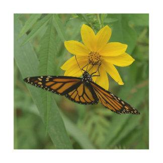 Butterfly, Wood Photo Print. Wood Wall Art