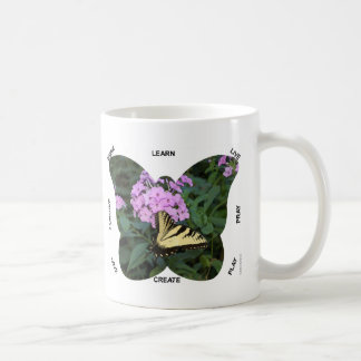 Butterfly Words to Live By Mug