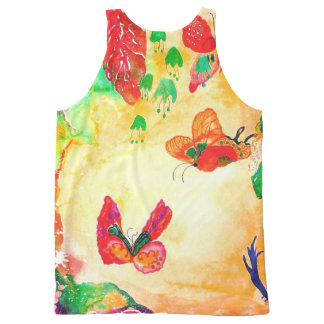 Butterfly World. All-Over Print Tank Top