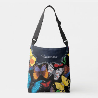 Butterfly World Customized Crossbody Bag