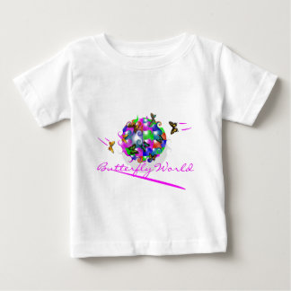 BUTTERFLY WORLD INFANT SHORT SLEEVE T-SHIRT
