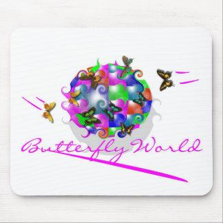 BUTTERFLY WORLD MOUSEPAD
