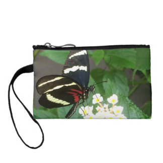 Butterfly wristlet purse