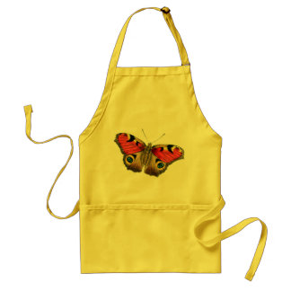 Butterfly yellow standard apron