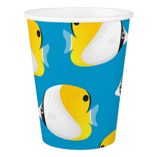 Butterflyfish Paper Cup