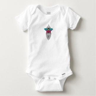 butterflymandala baby onesie