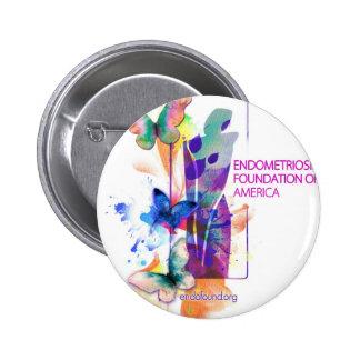 Butterflys Logo 6 Cm Round Badge