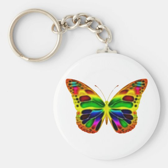 ButterflyWarrior 4 Key Ring