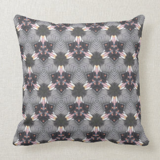 Butterfy Wing Geometric Design Throw Pillow