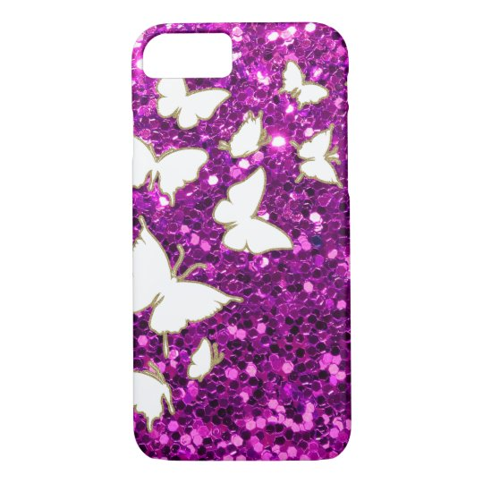 Butterly Bling Style iPhone 7 Case