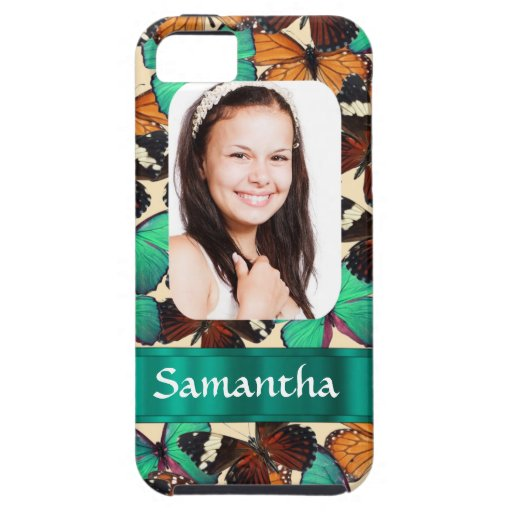 Butterly collage photo template iPhone 5 covers