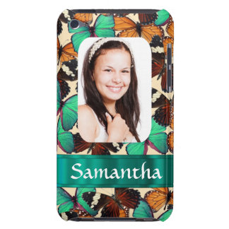 Butterly collage photo template barely there iPod cases