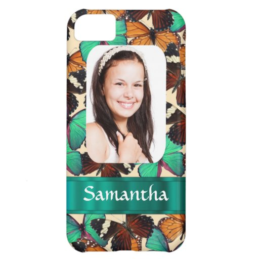 Butterly collage photo template iPhone 5C case