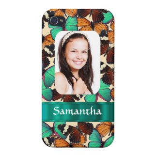 Butterly collage photo template iPhone 4/4S cover