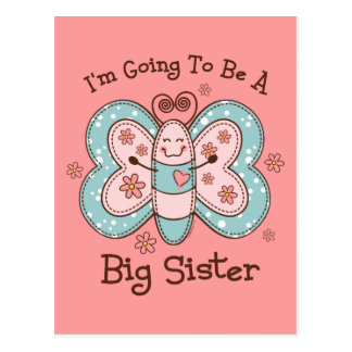 Butterly Future Big Sis Postcard