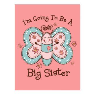 Butterly Future Big Sis Postcard