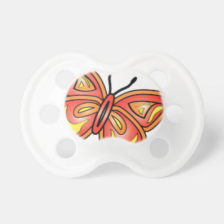 butterly-graphic baby pacifier